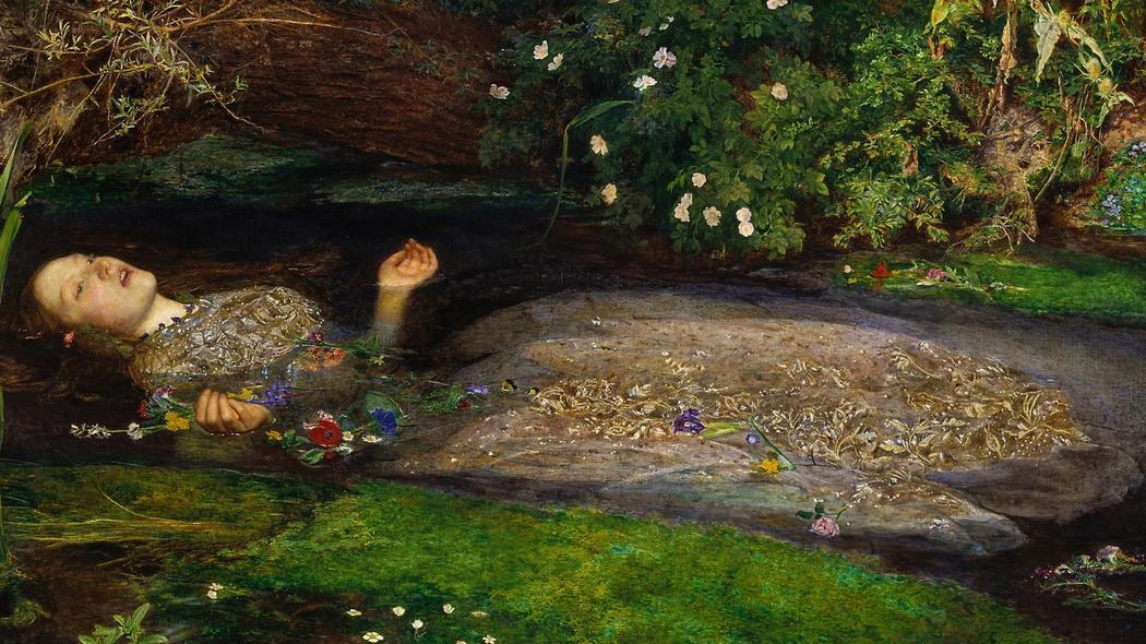 Ophelia – Sir John Everett Millais – Widowcranky
