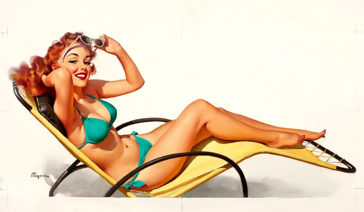 fa91491f03c Pin up – Gil Elvgren. I am not a feminist by any means. Actually