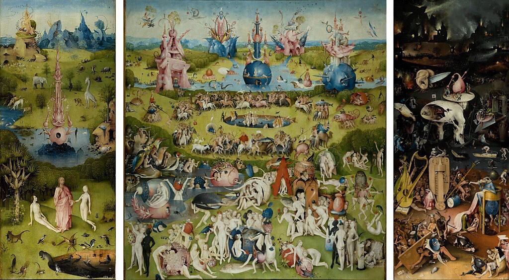 The Garden of Earthly Delights \u2013 Hieronymus Bosch \u2013 Widowcranky