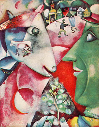 I And The Village Marc Chagall Widowcranky