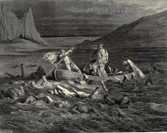 gustave-dore-digital-art-cutting-the-waves-from-dantes-inferno-by-gustave-dore