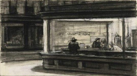 nighthawks-sketch
